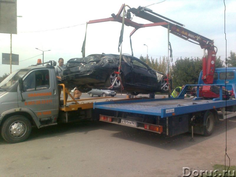Эвакуатор Таганрога от 800 руб,круглосуточно - Перевозки - Круглосуточно оказываем услуги по эвакуац..., фото 1