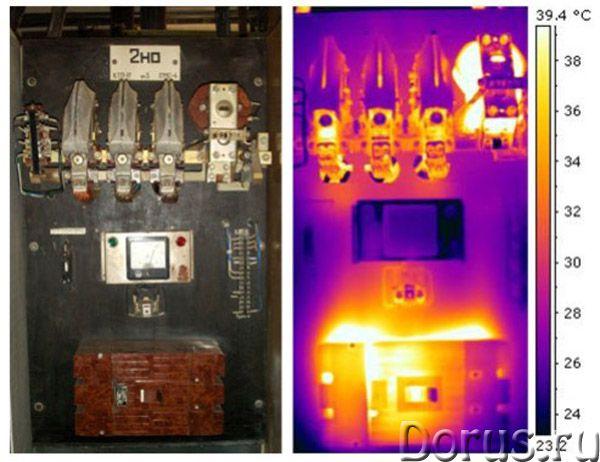 Тепловизионный контроль электрооборудования - Строительные услуги - Выявление и оценка неисправносте..., фото 1