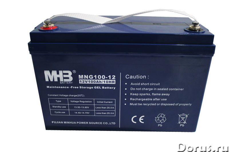 Необслуживаемые гелевые и AGM аккумуляторы - Товары промышленного назначения - Компания ИК ЭнергоПар..., фото 1